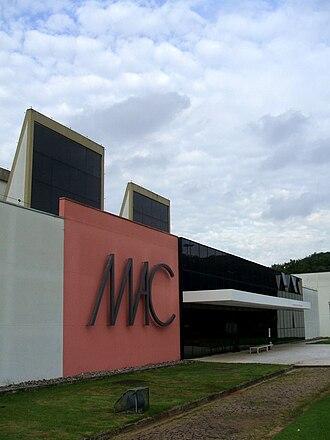 Museum of Contemporary Art, University of São Paulo - Image: MAC USP, fachada 6