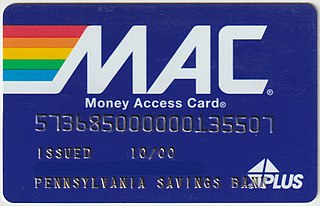 ATM card Type of bank card providing access to Automatic Teller Machines