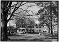 MAIN ELEVATION, VIEW FROM ACROSS MAIN STREET - Van Doren House, Main Street, Oldwick, Hunterdon County, NJ HABS NJ,10-OLWI,13-1.tif