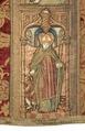 MCC-21689 Rode dalmatiek met annunciatie, visitatie en aanbidding der herders, Cyriacus, Petrus e.a. (14).tif