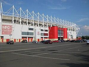 Riverside Stadium - Image: MFC Riverside Exterior