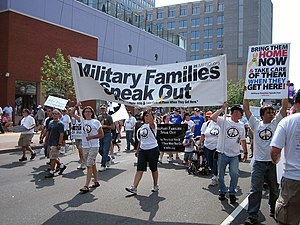 Military Families Speak Out - An MFSO march at the 2008 Republican National Convention