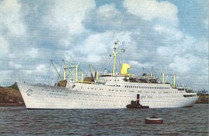 MV Astoria - The Stockholm as built.