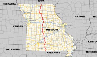 Missouri Route 5 highway in Missouri