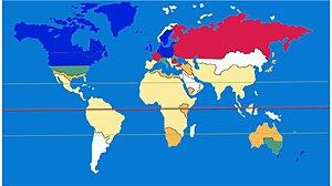 English: This slide shows the global prevalenc...