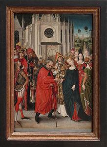 Maître à la vue de Sainte-Gudule - Le mariage de la vierge.jpg
