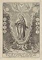 Maagd Maria geflankeerd door symbolen uit de Lauretaanse Litanie, RP-P-1904-772.jpg