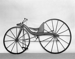 Bicycle drivetrain systems - A treadle bicycle