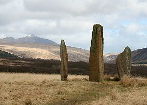 Islands of the Clyde - Machrie Moor standing stones, Arran