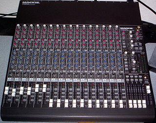 Mackie Brand of professional audio equipment