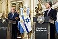 Macri & Netanyahu at Casa Rosada, September 2017 01.jpg