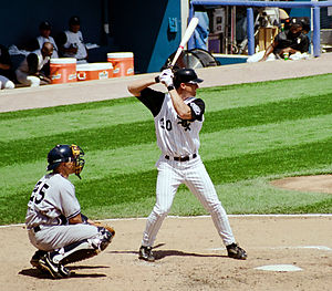 Magglio Ordóñez - Ordóñez bats for the White Sox, 1999