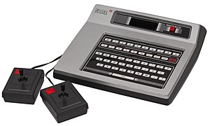 The Magnavox Odyssey² and its two hard-wired controllers