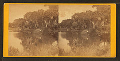 Magnolia Cemetery. The lake, by Quinby & Co..jpg