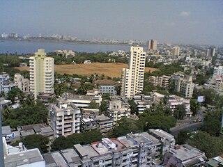 Mahim Neighbourhood in Mumbai, Maharashtra, India