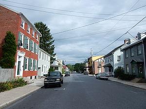 Bernville, Pennsylvania - Main Street.