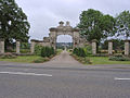 Main gateway, Harlaxton Manor - geograph.org.uk - 30267.jpg