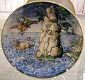 Maiolica di urbino, andromeda liberata da perseo, 1550 ca.jpg