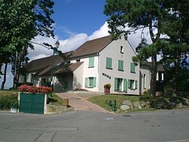 The town hall of Génicourt