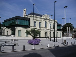 Trélazé - The town hall of Trélazé