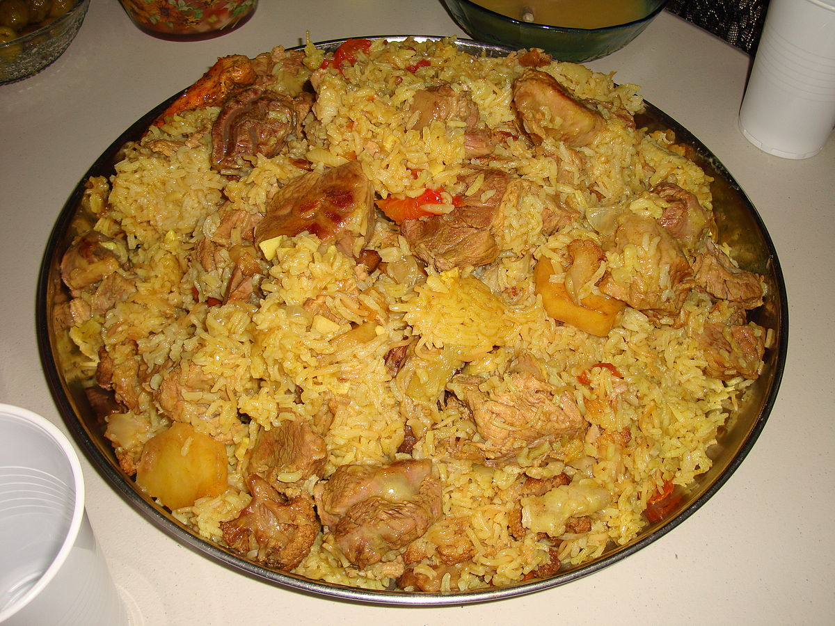 Maqluba wikipedia for Arabic cuisine names