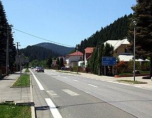 Makov - Makov. Main street
