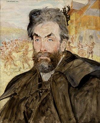 Stanisław Witkiewicz - Stanisław Witkiewicz.  Portrait by Jacek Malczewski, 1897.