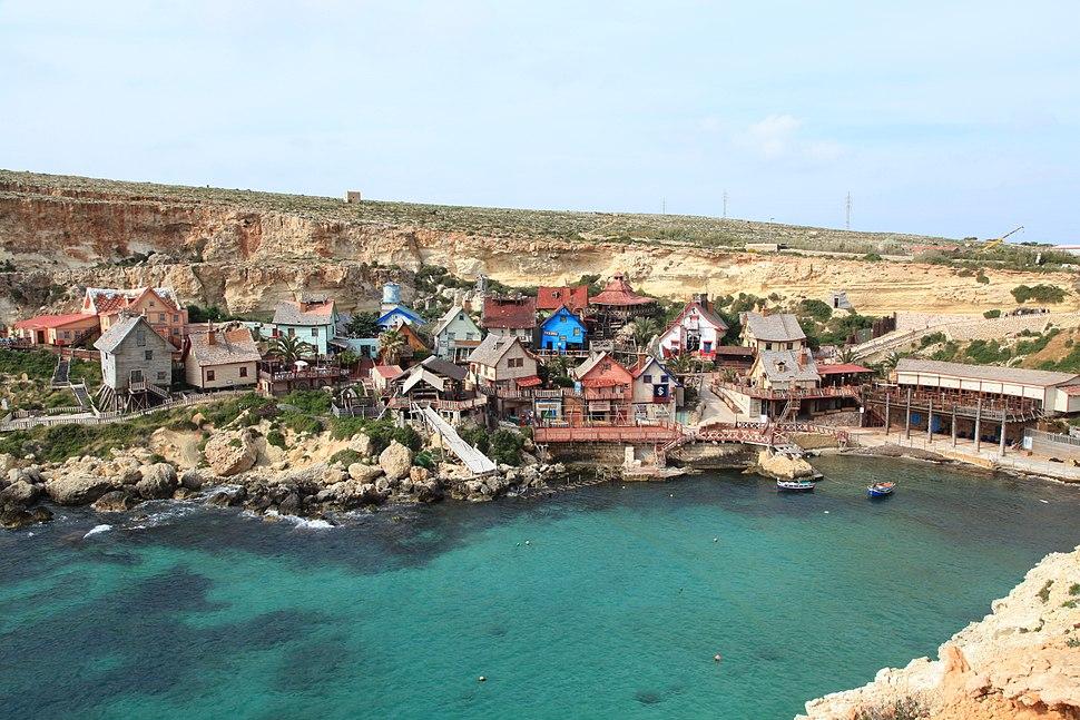 Malta - Mellieha - Triq tal-Prajjet - Anchor Bay+Popeye Village 01 ies