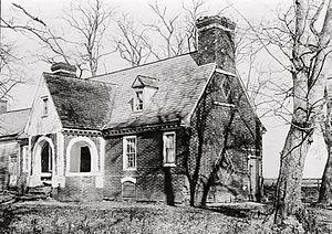 Malvern Hill - Malvern Hill, before its destruction by fire