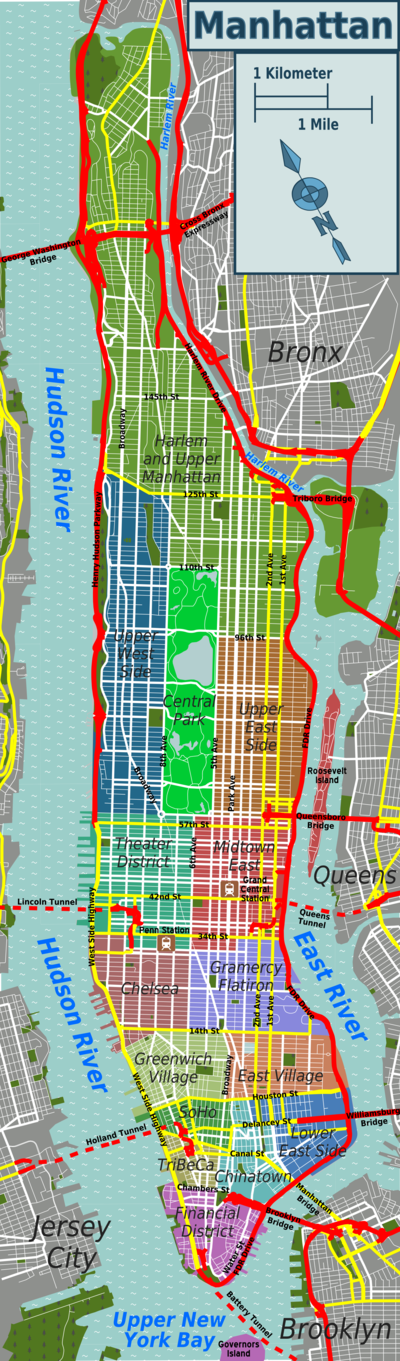Manhattan Travel Guide At Wikivoyage