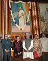 Manmohan Singh, the Speaker, Lok Sabha, Smt. Meira Kumar, Leader of Opposition in Lok Sabha, Shri L.K. Advani, the Chairperson, UPA, Smt. Sonia Gandhi and the Secretary General, Lok Sabha.jpg