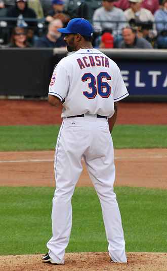 Manny Acosta - Acosta with the New York Mets
