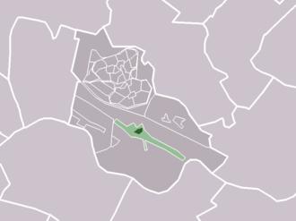 Schalkwijk, Utrecht - Image: Map NL Houten Schalkwijk