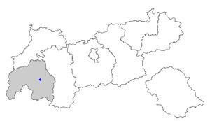 Serfaus - Image: Map at 7 serfaus