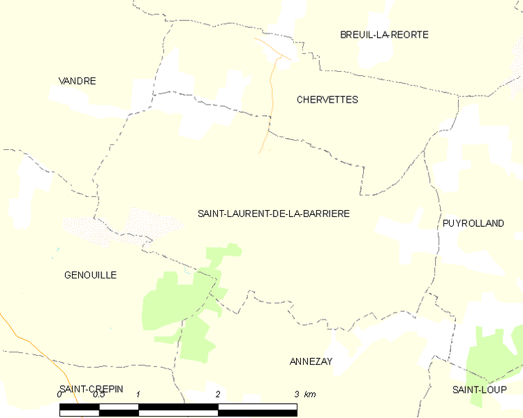 Súbor:Map commune FR insee code 17352.png
