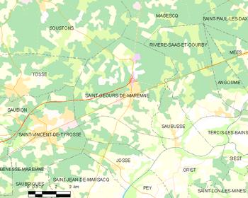 Saint geours de maremne wikipedia for Piscine saint geours de maremne