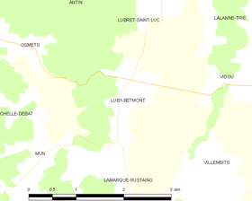 Map commune FR insee code 65289.png