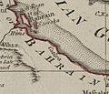 Map of Catura (Qatar) 1794.jpg