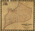 Map of Jefferson County, Kentucky - showing the names of property holders, division lines of farms, position of houses, churches, school-houses, roads, water-courses, distances, and the topographical LOC 78694303.jpg
