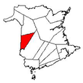 Map of New Brunswick highlighting Carleton County 2.png