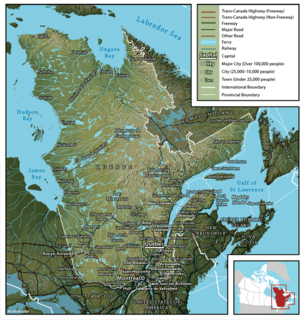 Geography of Quebec