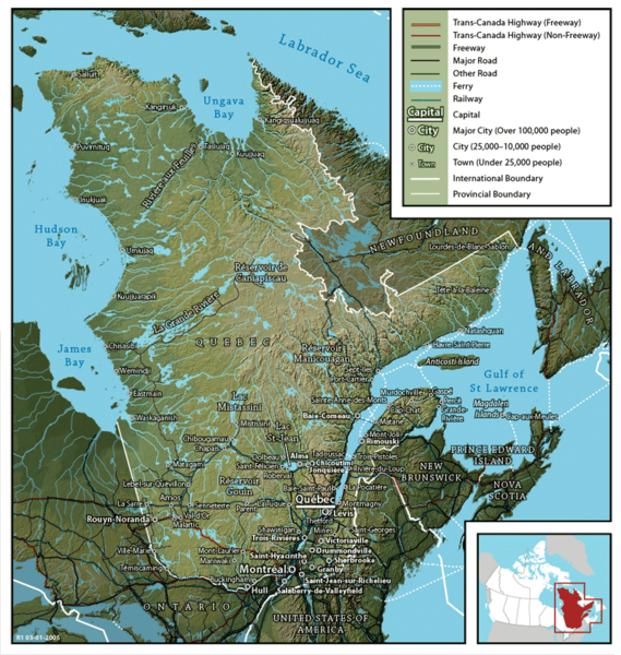 Файл:Map of Quebec.png