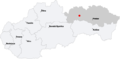 Map slovakia javorina.png