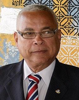 Marcel Gumbs Prime Minister of Sint Maarten