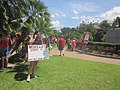March Against Monsanto end at Jackson Square New Orleans Banned Why Not Here.JPG
