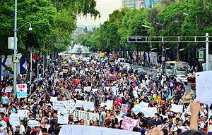 Yo Soy 132 - Image: Marcha Yo Soy 132