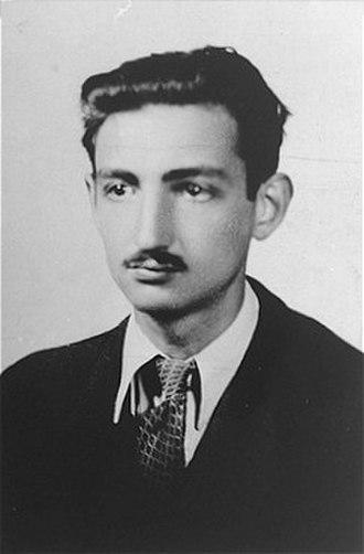 Marek Edelman - Marek Edelman at around the time  of the Warsaw Ghetto Uprising