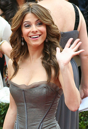 Maria Menounos at the 81st Academy Awards