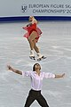 Maria Mukhortova and Maxim Trankov at 2010 European Championships (2).jpg