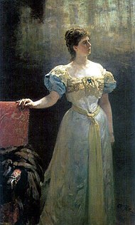 Maria Tenisheva by I.Repin (1896, Brodsky's apartment).jpg